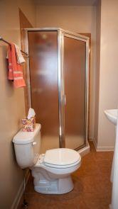 Downstairs tiny bathroom
