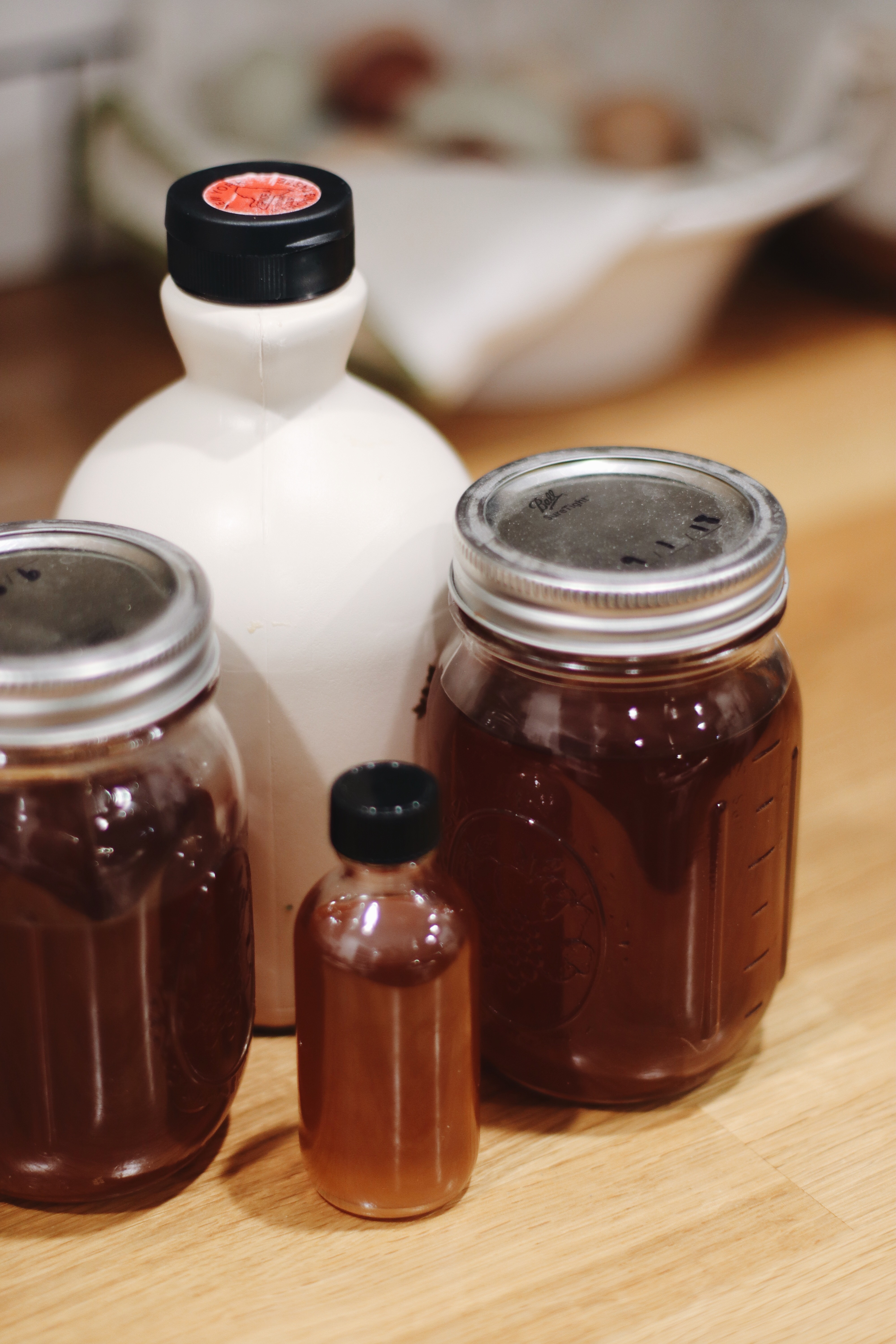 Homemade Maple Syrup for Dutch Baby Pancakes