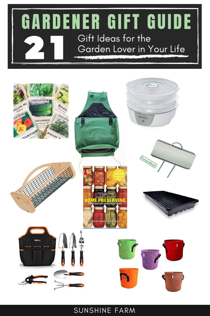 Gardener Gift Guide. gift ideas for the garden lover in your life