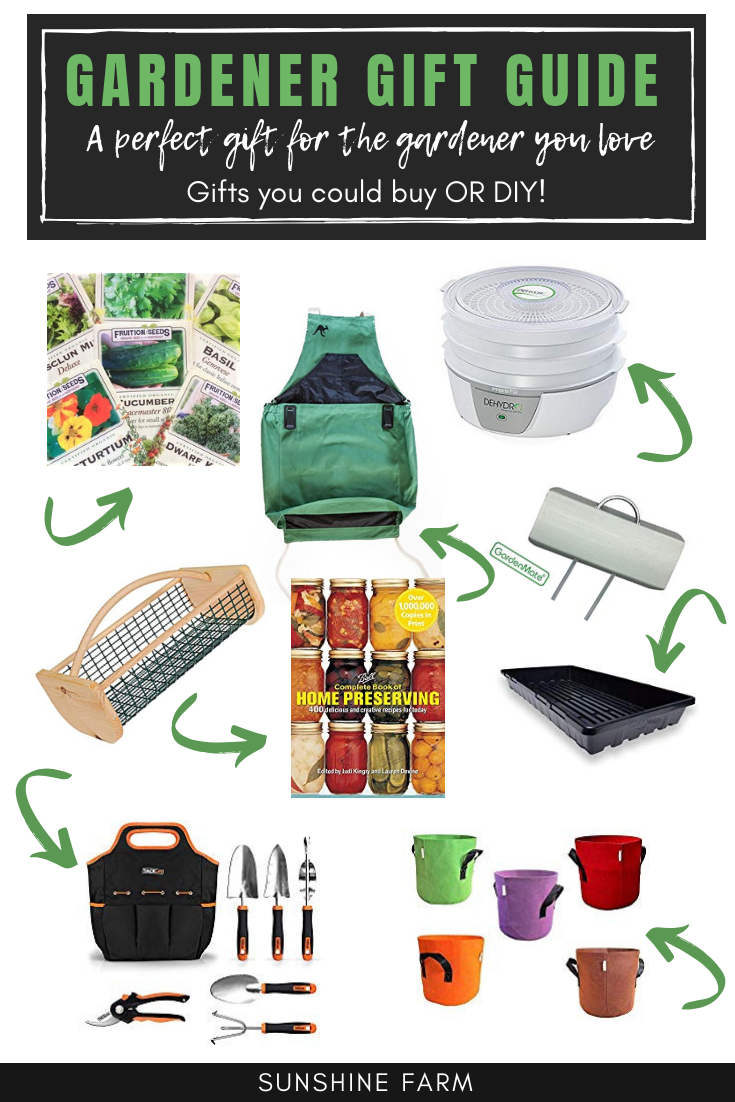 Gardener Gift Guide 21 gift ideas to buy or DIY for the garden lover in your life
