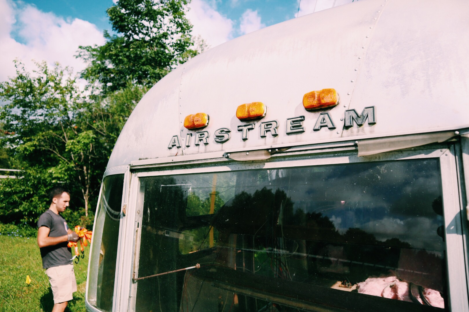 Vintage Airstream Sovereign Trailer 1969