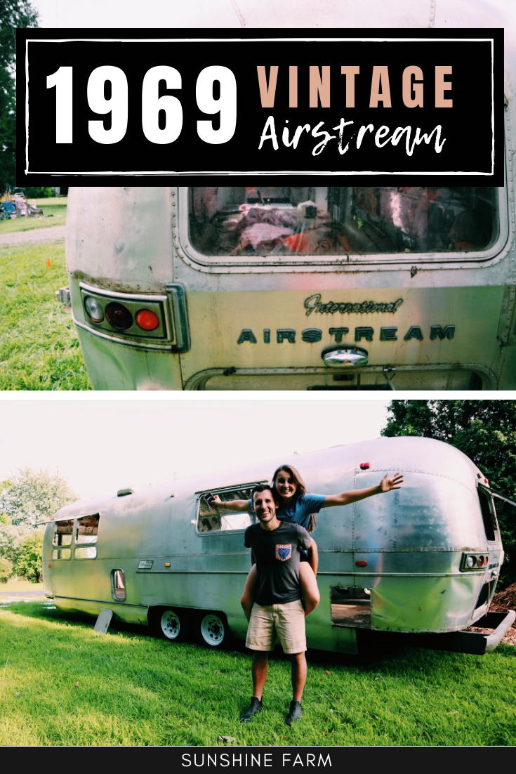 1969 Vintage Airstream Sovereign Trailer
